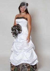 Mossy Oak Camo Wedding Dress