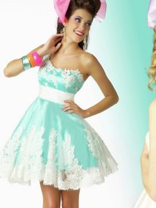 One Shoulder Short Prom Dresses