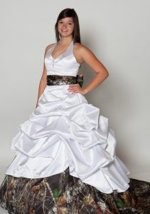 Pictures of Camo Wedding Dresses