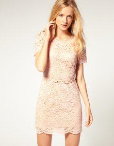 Pink Lace Dresses