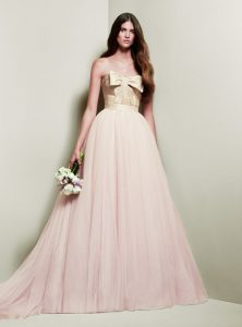 Pink Vera Wang Wedding Dresses