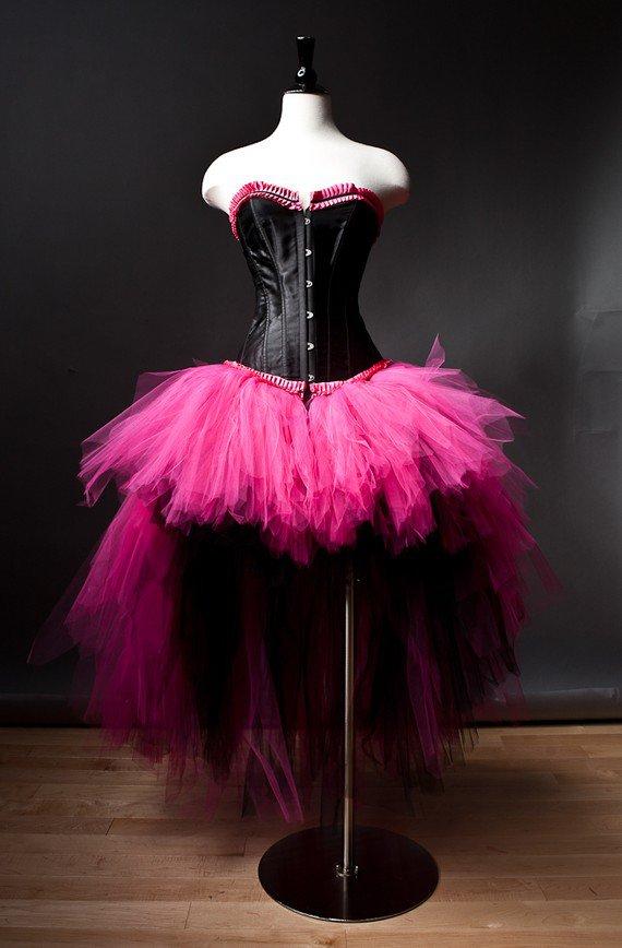Pink And Black Dresses For Prom - Ocodea.com