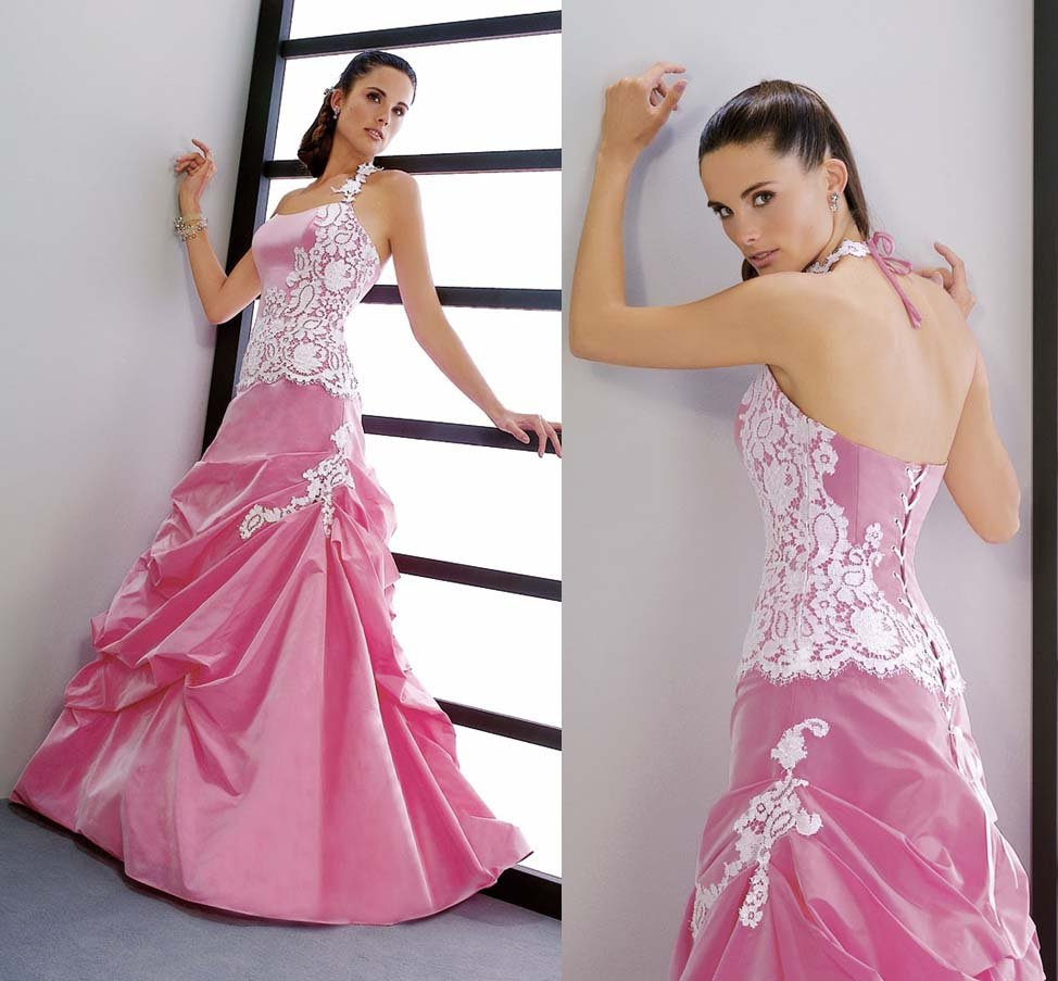 Wedding Gowns In Pink: Pink Wedding Dress