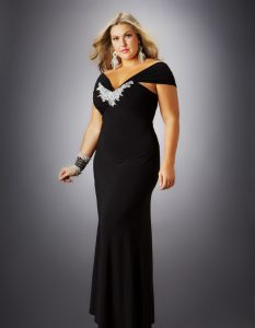 Plus Size Black Prom Dresses