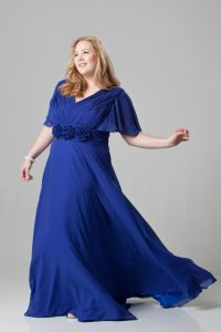 Plus Size Blue Wedding Dresses