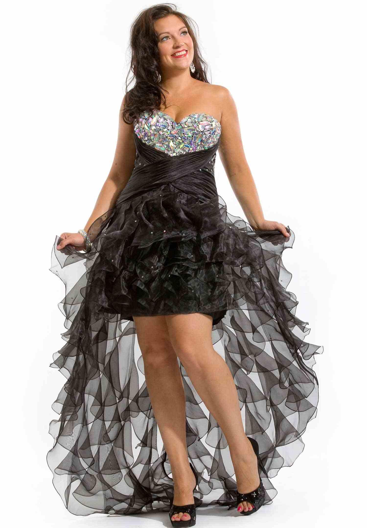 Plus Size Prom Dresses Dressedupgirl Com