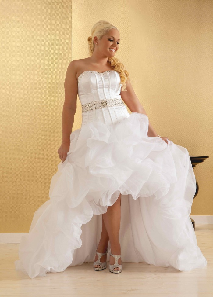 High Low Wedding Dresses Dressed Up Girl