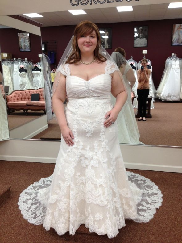 Plus size wedding dresses dressed up girl for Lace wedding dresses plus size