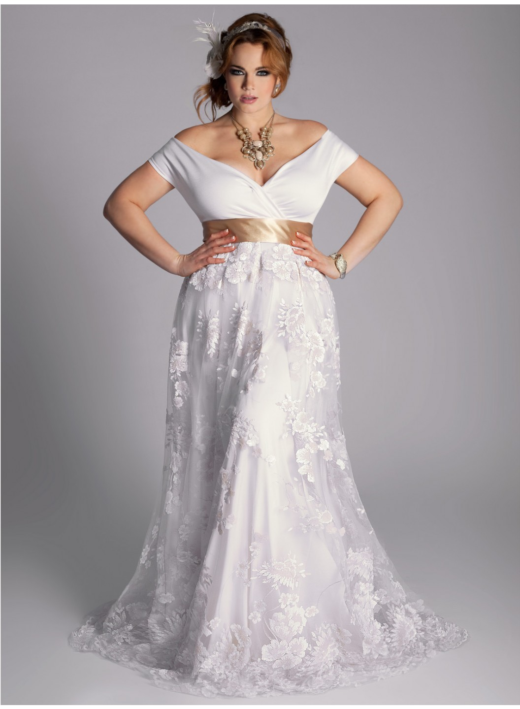 Plus size wedding dresses dressed up girl for What is my wedding dress size