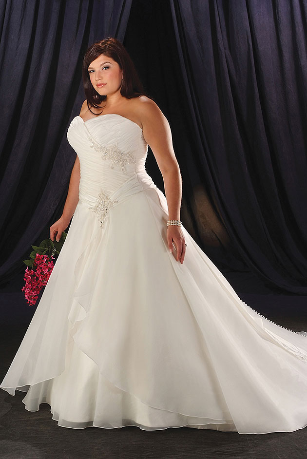 Plus size wedding dresses dressed up girl for Plus size african wedding dresses