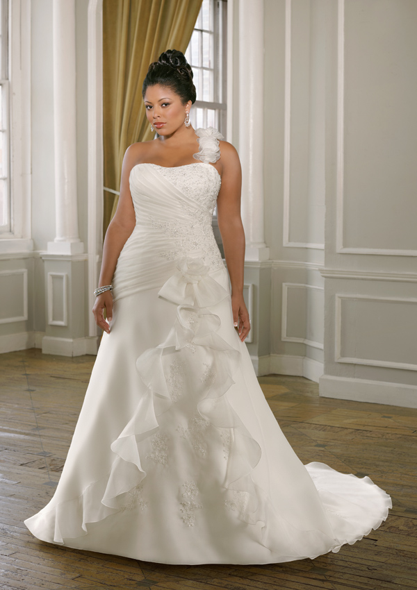 Plus size wedding dresses dressed up girl for Wedding dress plus size cheap
