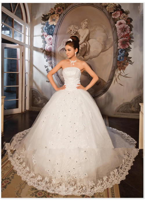 Princess Wedding Dresses Dressed Up Girl