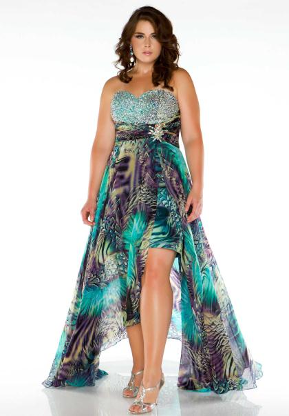 Plus Size Prom Dresses | Dressed Up Girl