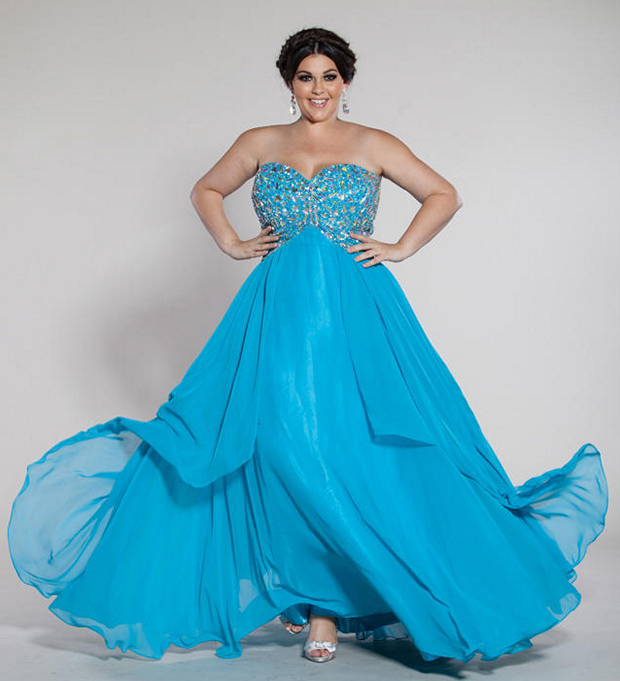 Plus Size Prom Dresses Dressed Up Girl