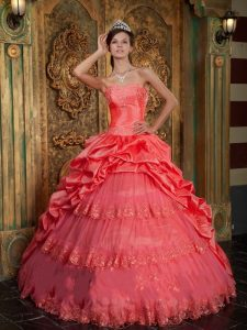 Quinceanera Coral Dresses