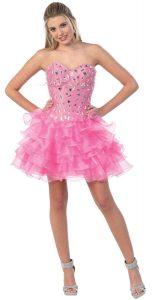 Quinceanera Dama Dress