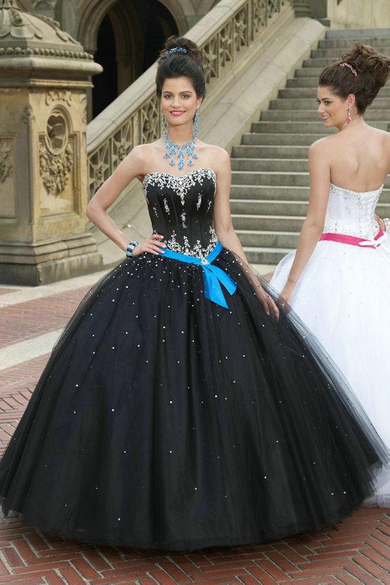 Black Quinceanera Dresses | Dressed Up Girl