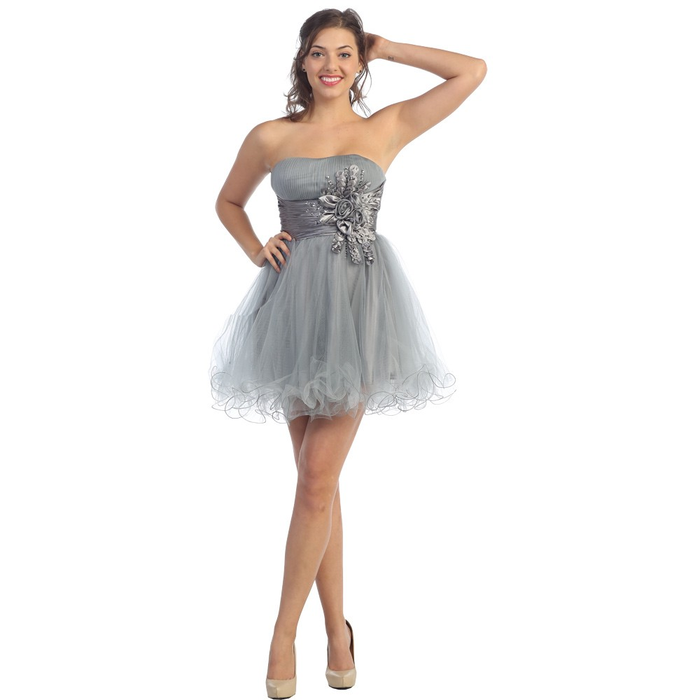Quinceanera Dama Dresses Dressed Up Girl - Hairstyles For Damas In Quinceaneras