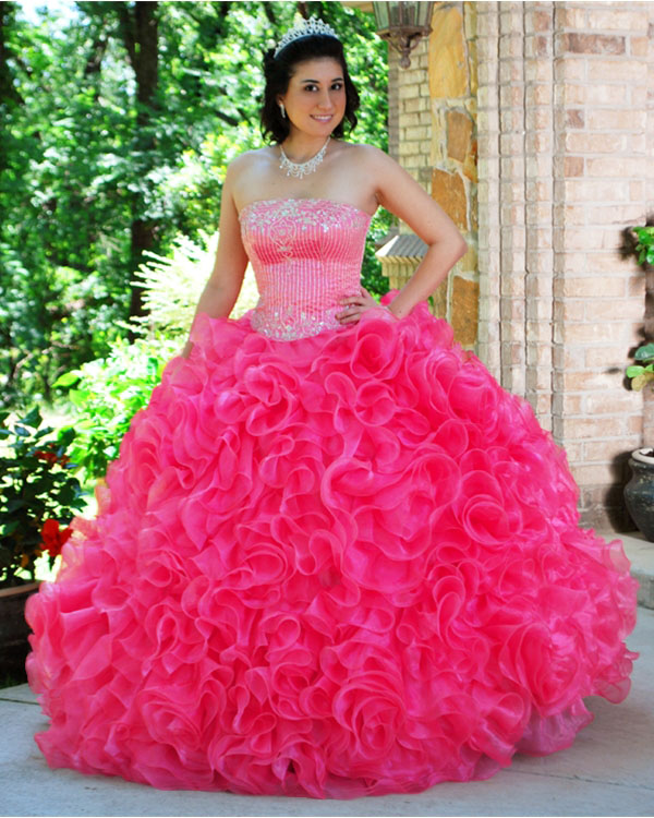 Pink Quinceanera Dresses - Dressed Up Girl