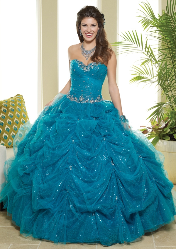 Turquoise Quinceanera Dresses | Dressed Up Girl