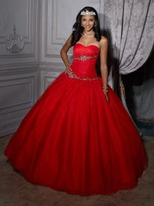 Quinceanera Dresses in Red
