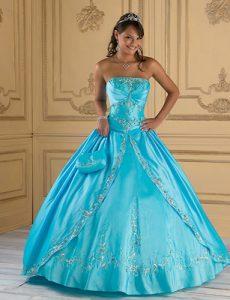 Quinceanera Dresses in Turquoise