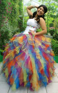 Quinceanera Rainbow Dresses