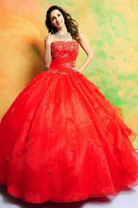 Quinceanera Red Dresses