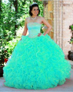 Quinceanera Turquoise Dresses