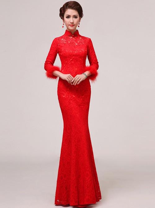 Red Lace Dress Dressedupgirl Com
