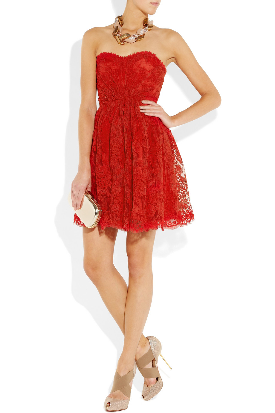 Red Lace Dress | Dressed Up Girl