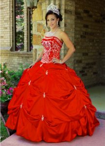 Red Quinceanera Dresses