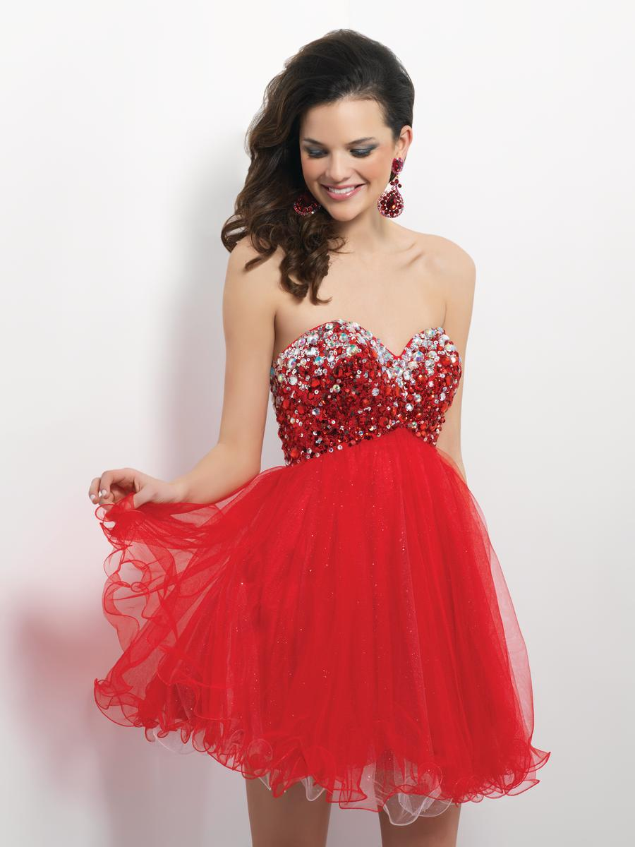 Red Short Prom Dresses - Holiday Dresses