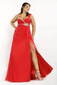 Red Wedding Dresses Plus Size