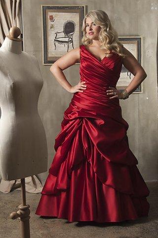 Red Wedding Dresses | DressedUpGirl.com