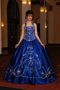 Royal Blue Wedding Dresses