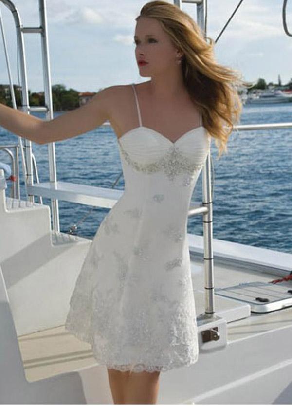 Short Wedding Dresses Dressedupgirl Com