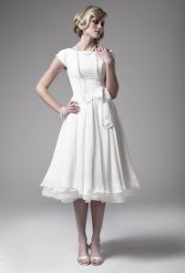 Short Modest Wedding Dresses