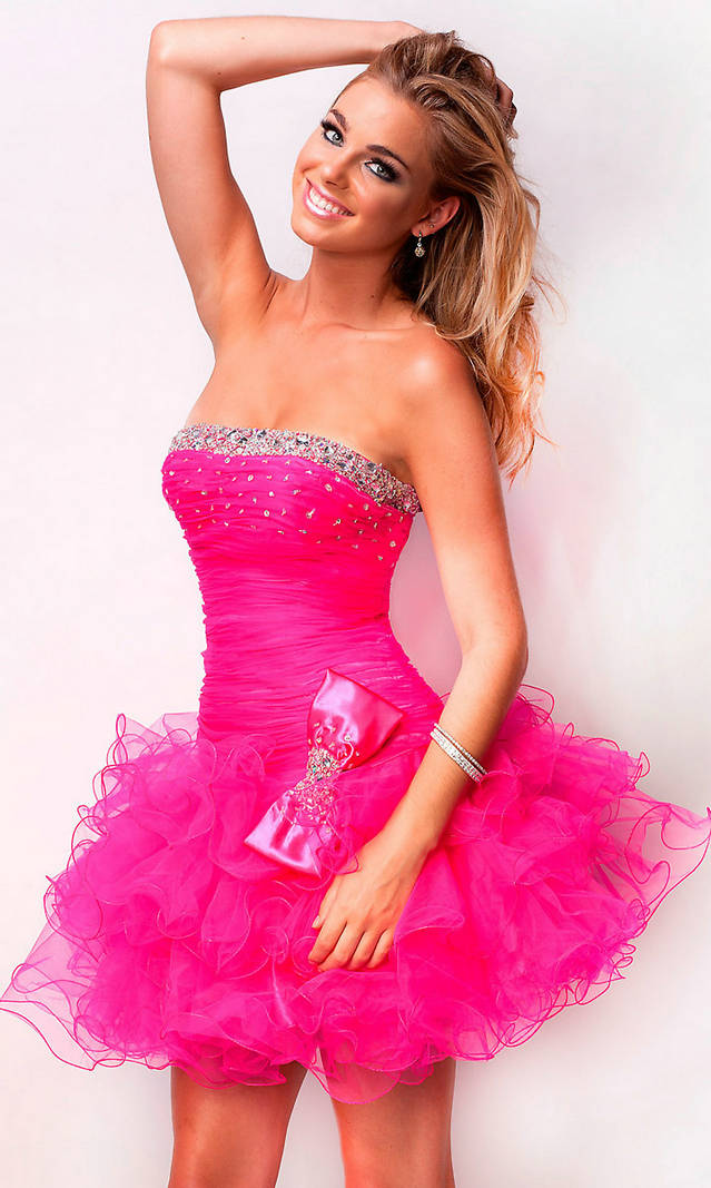 Short Prom Dresses | Dressed Up Girl