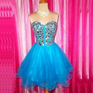 Short Puffy Prom Dresses