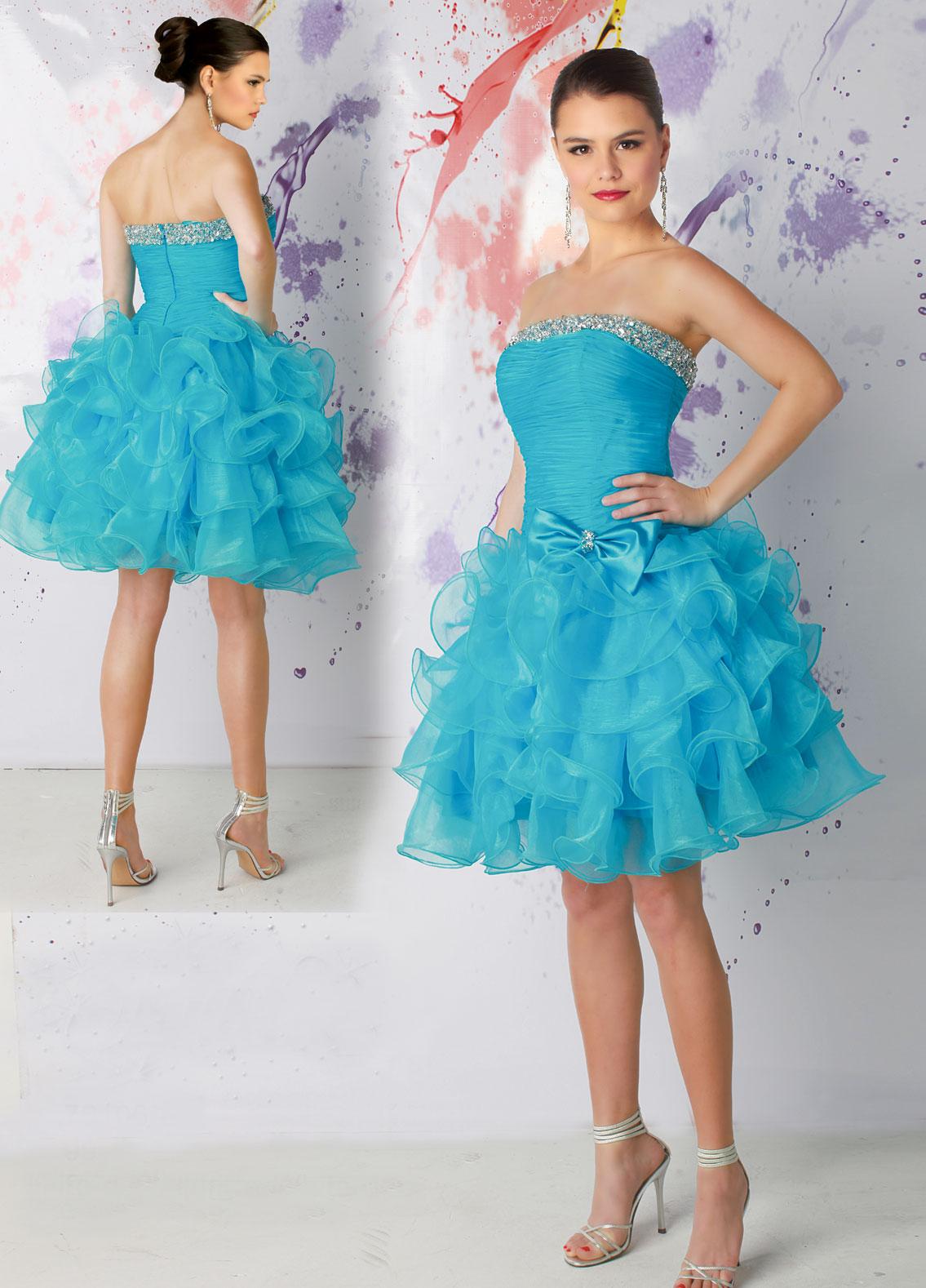 Short Quinceanera Dresses | Dressed Up Girl