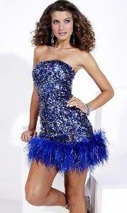 Short Sequin Prom Dresses