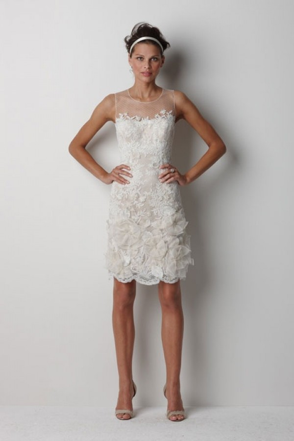 Vintage Lace Short Wedding Dresses | Wedding Gallery