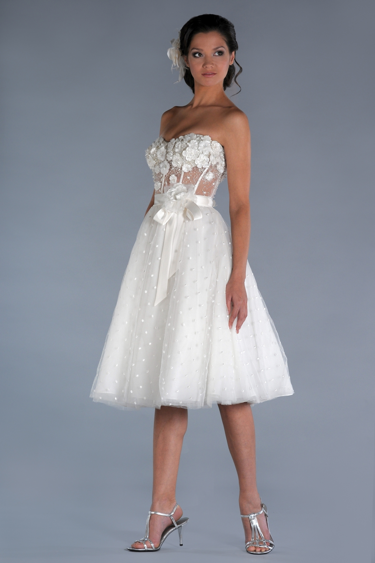 Short wedding dresses dressed up girl for Wedding girl dress up