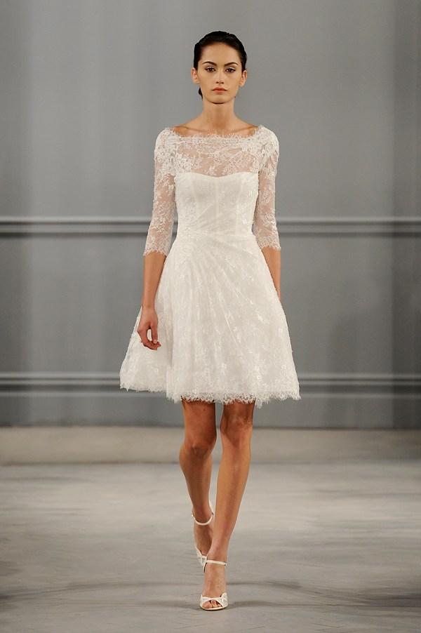 Short White Wedding Dresses