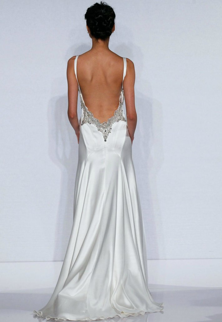 Backless wedding dresses dressed up girl for No back wedding dress