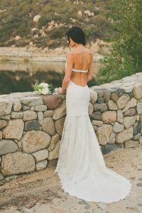 Simple Backless Wedding Dresses