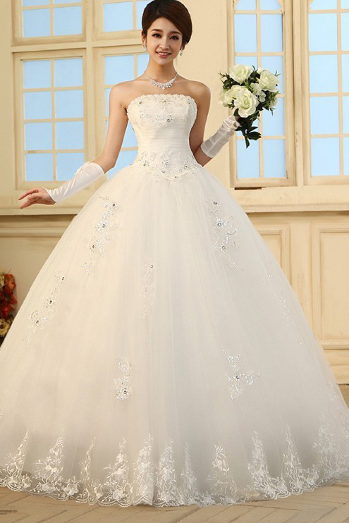 Strapless Princess Wedding Dresses - Wedding Dress Ideas