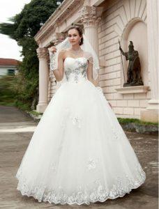 Strapless Princess Wedding Dresses