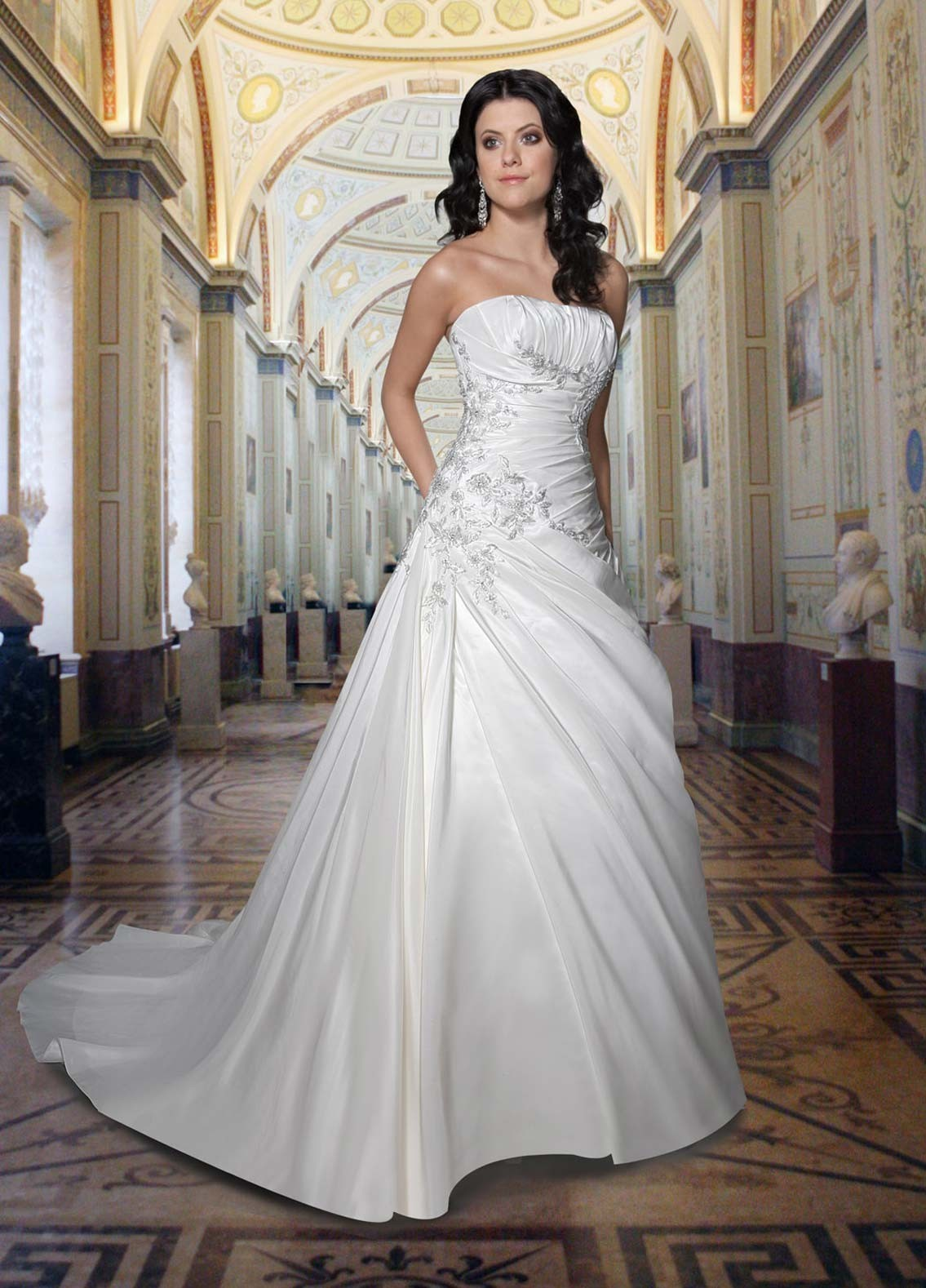 strapless wedding dresses dressed up girl ForDress Up Wedding Dresses